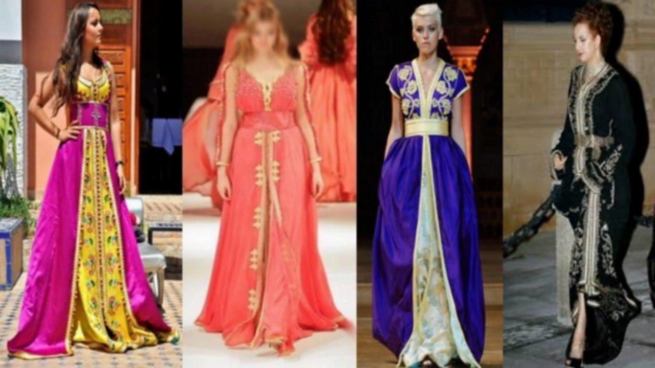 98d571570 أناقة وجمال القفطان والتكشيطة المغربية - YouTube