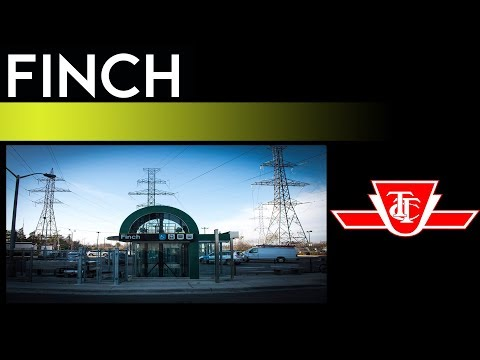 TTC Yonge-University Subway - Finch Station Walkthrough