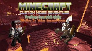 Minecraft Custom Mods Adventure: Trường học phù thủy 2: Vào hang cọp thumbnail