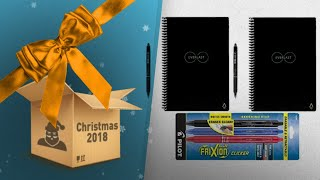 2-Pack Letter Size Rocketbook Everlast With 3 Pens Gift Set / Countdown To Christmas Sale!