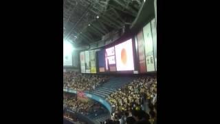 3/30 阪神vsDeNA 開幕戦 秋川雅史さんの国家独唱です。 さすが上手...