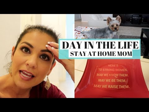 DAY IN THE LIFE 2017 || STAY AT HOME MOM || YOUTUBERS UPDATE, SHOPPING & MORE || Style Mom XO