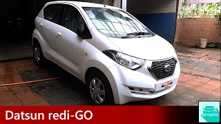 Datsun redi-GO Detailed Walkaround, Interior and Engine Sound