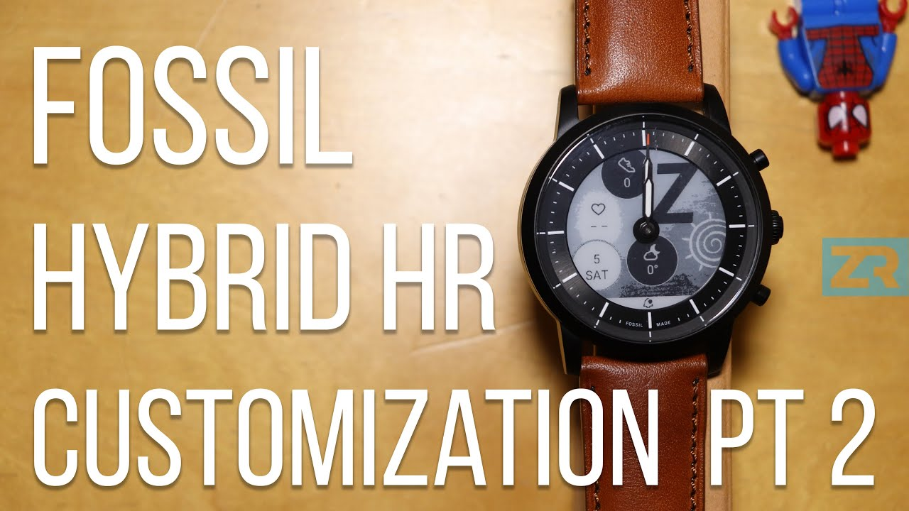 Fossil Hybrid HR Customization Part 2 (v4.6 Update)