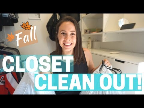 FALL CLOSET CLEAN OUT!!! + BIG Life Announcement Minimalism