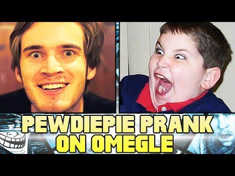 PEWDIEPIE PRANK ON OMEGLE! - (Pewdiepie Voice Impression)
