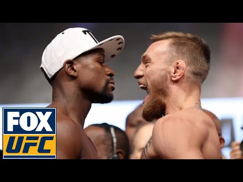 Thumbnail: Floyd Mayweather vs. Conor McGregor | Weigh-in | Mayweather vs. McGregor