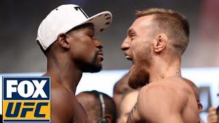 Floyd Mayweather vs. Conor McGregor | Weigh-in | Mayweather vs. McGregor