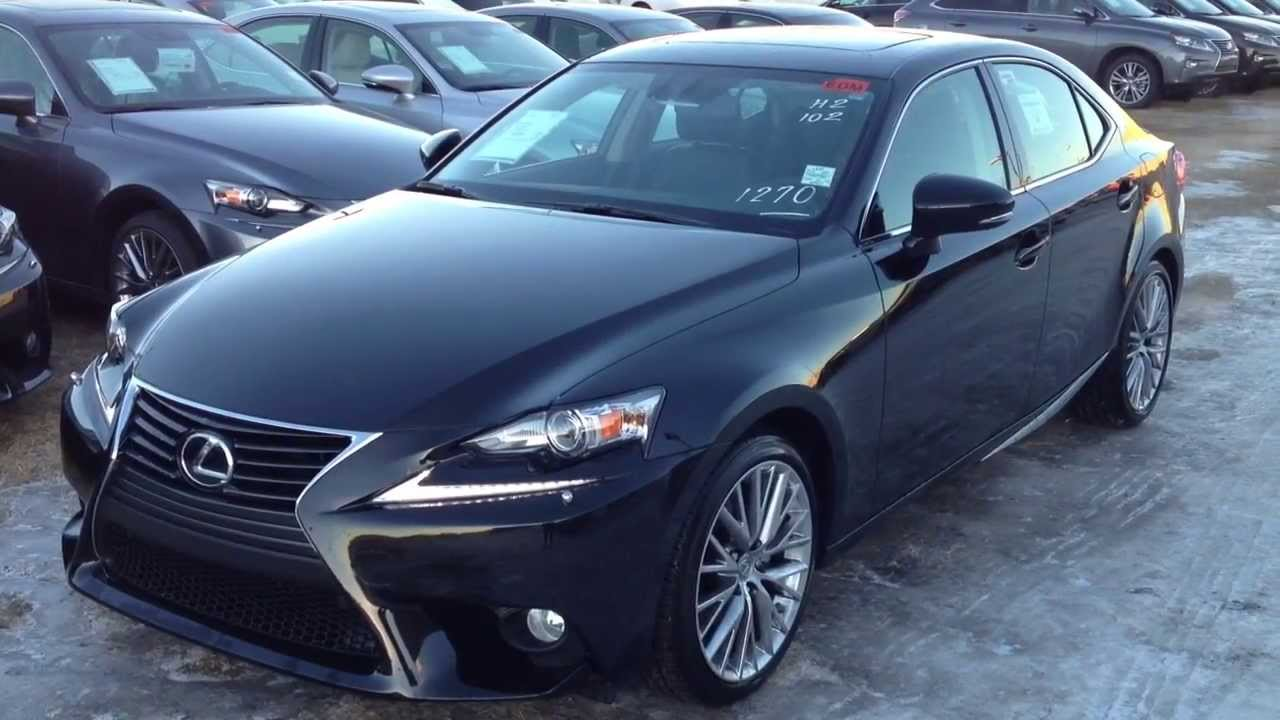 2014 lexus is 250 4dr sdn awd luxury package review youtube. Black Bedroom Furniture Sets. Home Design Ideas