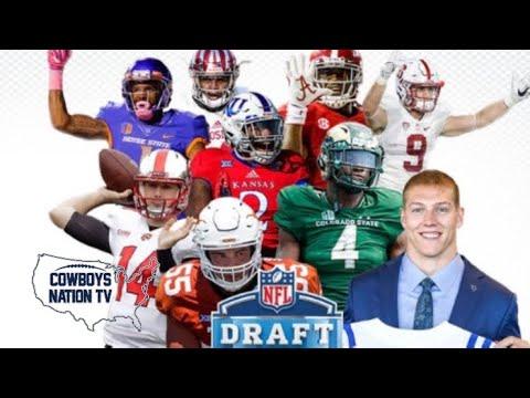8f0ef888f Dallas Cowboys 2018 Draft Recap Grade - YouTube