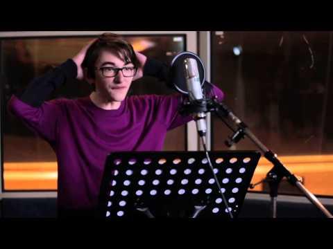 "The Boxtrolls: Isaac Hempstead Wright ""Eggs"" Voice Recording Broll"