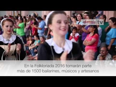 Nota - Tomarán parte en la Folkloriada 2016 más de mil 500 bailarines, músicos y artesanos.