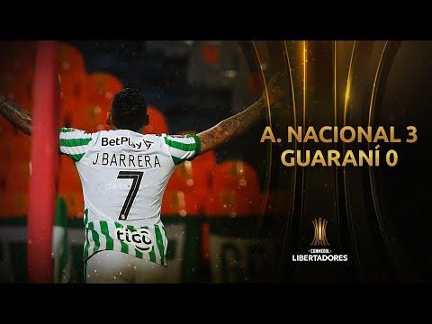 Atl. Nacional Guarani Goals And Highlights
