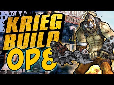 Borderlands 2 - OP8 Bloodsplosion Krieg Build & Game Save