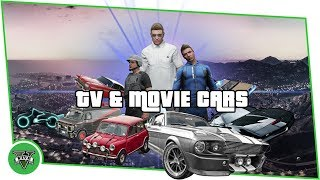 GTA ONLINE - TV & Movie Car Collection