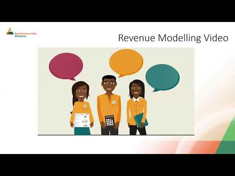 Webinar 7: Make and Manage Money. Revenue Modelling- Financial Model and cos structure