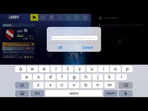 Add Friends Fortnite Mobile