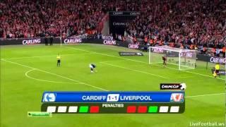 Серия пенальти Cardiff City-Liverpool penalty shoot-out
