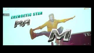 Hyper movie ram potheneni entry theme song | Ram potheneni |