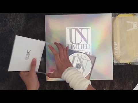 UNBOXING B.A.P 2nd Japanese Full Album UNLIMITED ( Web Edition & Ultimate Edition)