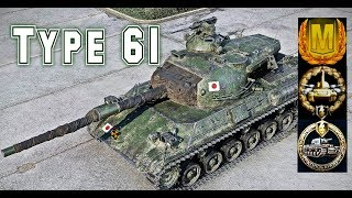 Type 61 #3 world of tank blitz Aced gameplay 5000 DMG + Kolobanov