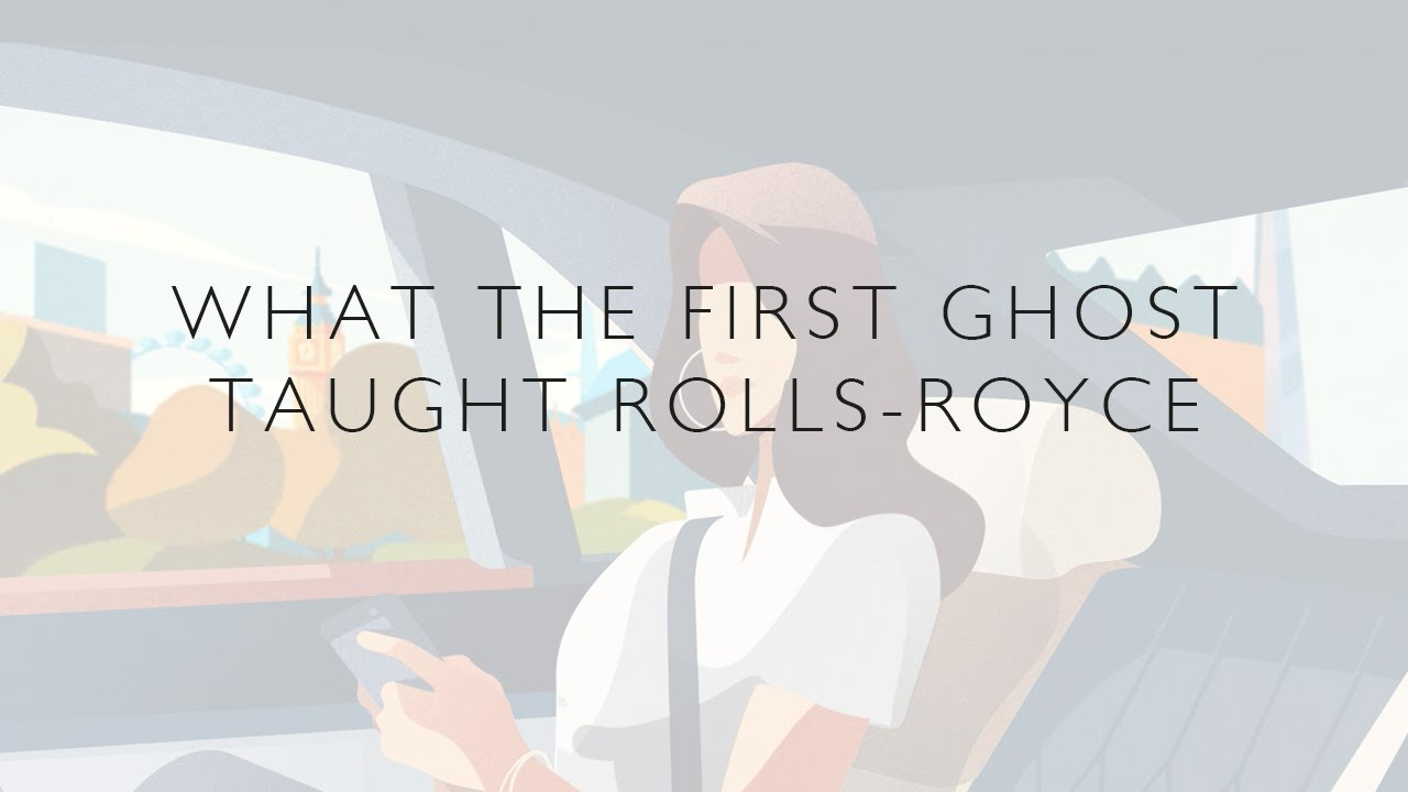 What the first Ghost taught Rolls-Royce Motor Cars