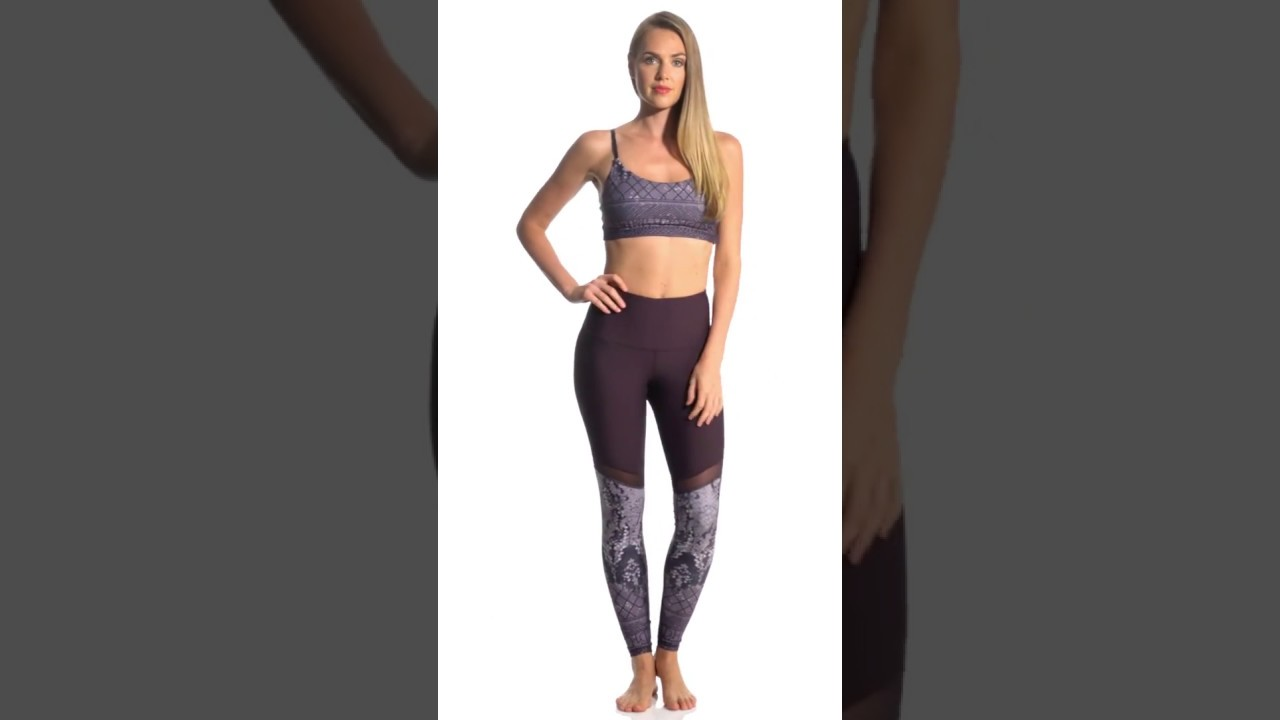 e75e7ae0dce66 Manduka Engineered High Line Yoga Leggings | SwimOutlet.com - YouTube