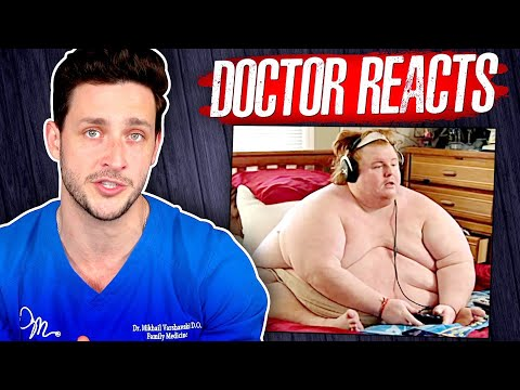 The Harsh Reality Of Being 800 Pounds | Doctor Reacts