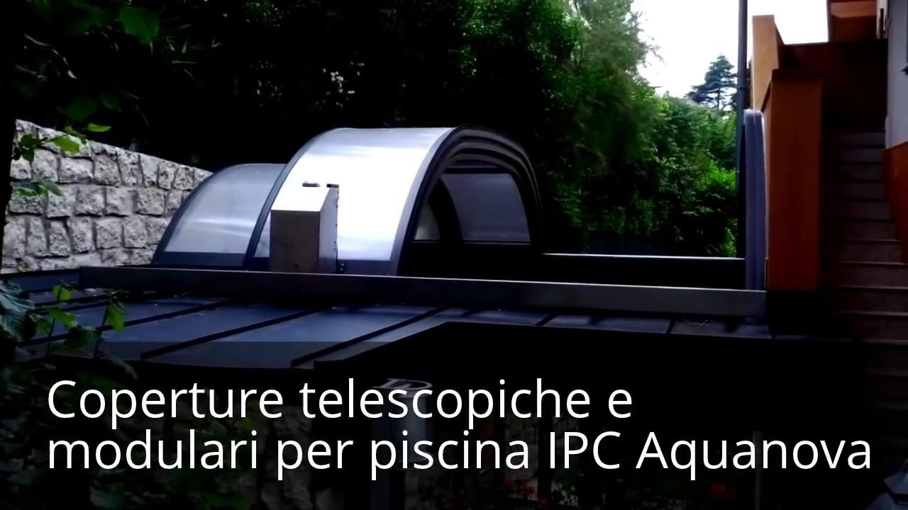 Copertura / tetto apribile / scorrevole in automatico da Aquanova da ...