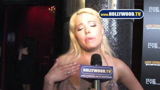 Kristen Kelly  Uncomfortable Red Carpet Premiere at Drais