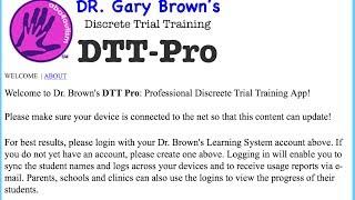 Autism DTT Pro - Professional discrete trial training