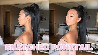 TRYING THE ARIANA GRANDE HIGH PONYTAIL