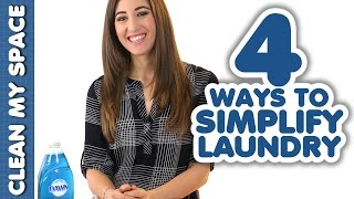 4 Ways to Simplify Laundry! (Clean My Space) Thumbnail