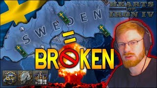 THEY BANNED THIS COUNTRY FROM HOI4 MULTIPLAYER BECAUSE OF ME! THIS COUNTRY IS TOO BROKEN! - HOI4 MTG