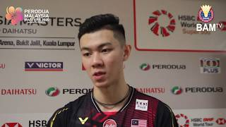 Zii Jia pleased to seal comeback win | Post-match comments | #PMM2020