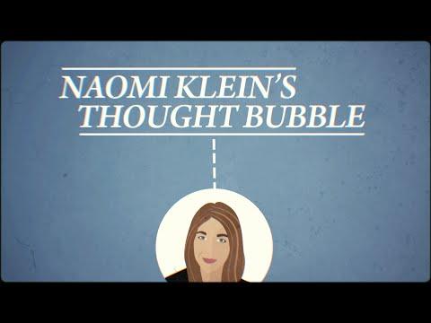 Naomi Klein's Thought Bubble: Ethical Oil?