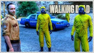 GTA 5 Zombies The Walking Dead #11 - Rick Grimes Searching For Escaped Zombie