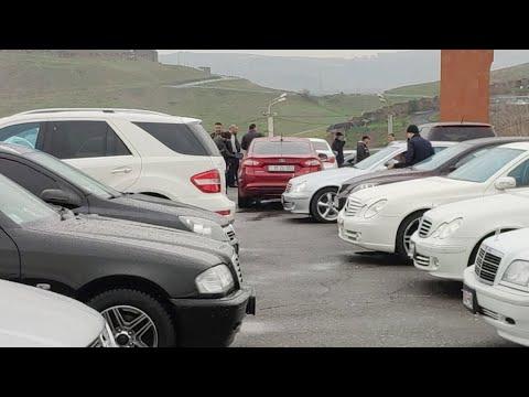 Стрим с авторынка в Ереване