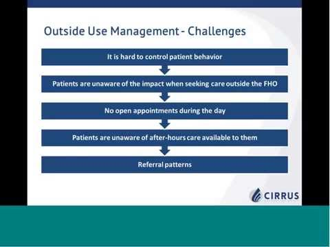 Webinar: Transitioning from FHG to FHO | Cirrus Consulting Group