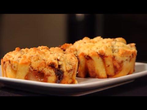 crumbles-poire,-banane-et-chocolat