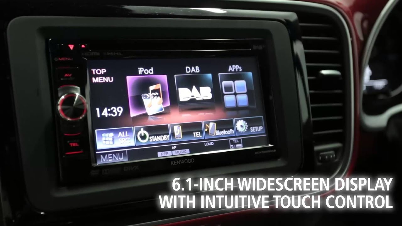 KENWOOD DNN9230DAB Multimedia Receiver Drivers (2019)