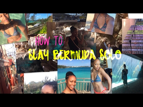 My Solo Trip To Bermuda!! | Resort And Travel Review And Things To Do