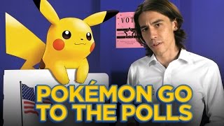 But, Seriously, Pokèmon Go to the Polls