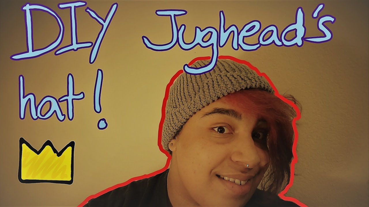 36bd6dda37b Knit your own Jughead Jones  hat! - YouTube