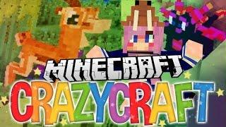 Gazelles & A Pet Dragon! | Ep 10 | Minecraft Crazy Craft 3.0