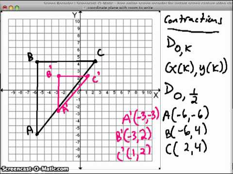 math worksheet : dilation in the coordinate plane  read geometry  ck 12  : Math Dilations Worksheet