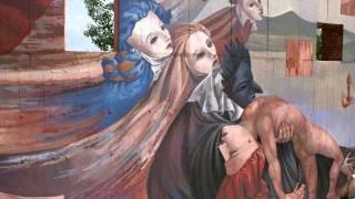 cantieri in Liberta' il Murales e il Simposio di scultura