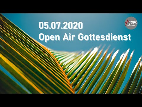 """16. Online Gottesdienst Open Air Special """"Jesus ruft Dich"""" // AGAPE Gemeinde"""