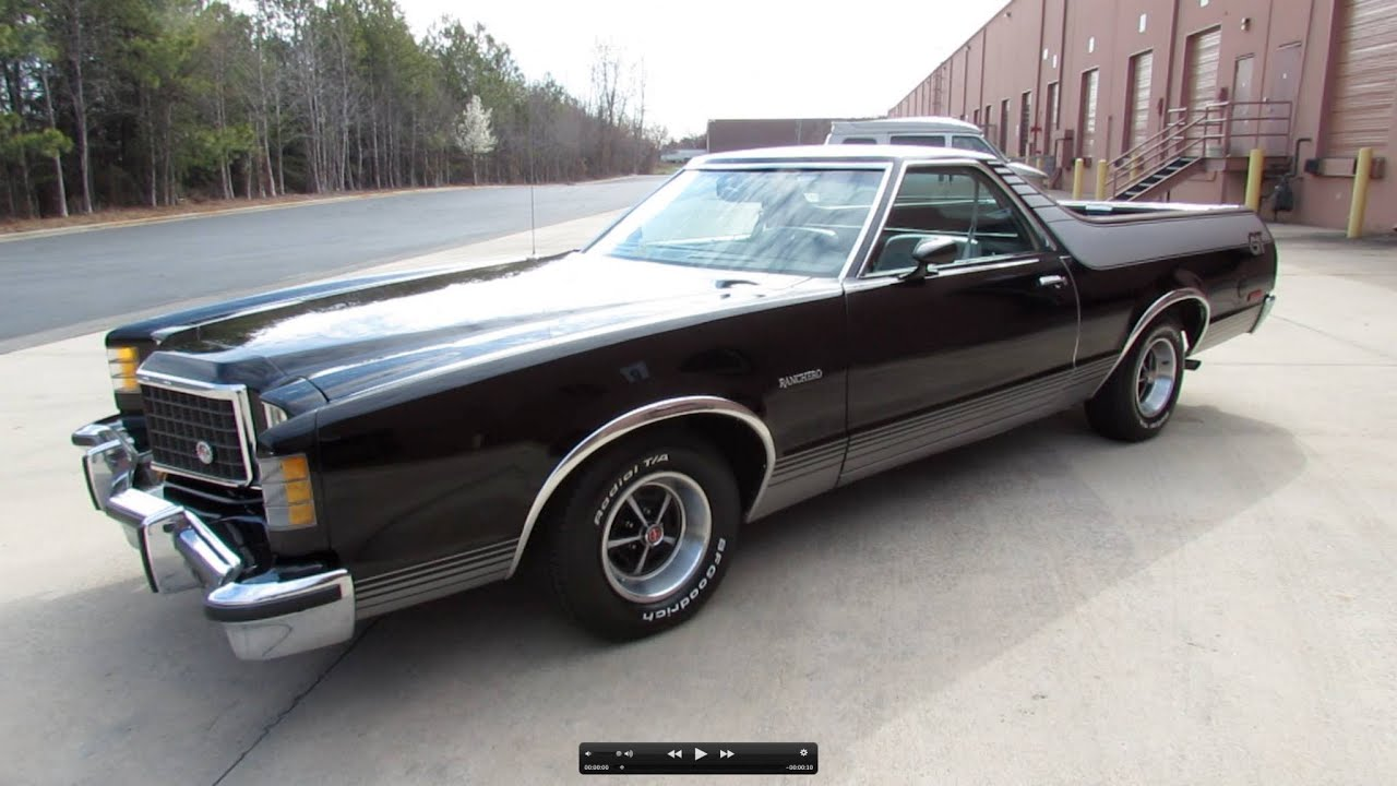 1979 ford ranchero gt brougham start up exhaust and in depth review youtube - 1978 Ford Ranchero
