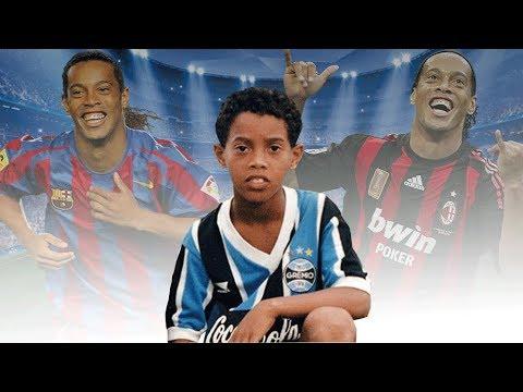 A Historia De Ronaldinho Gaucho O Bruxo Youtube